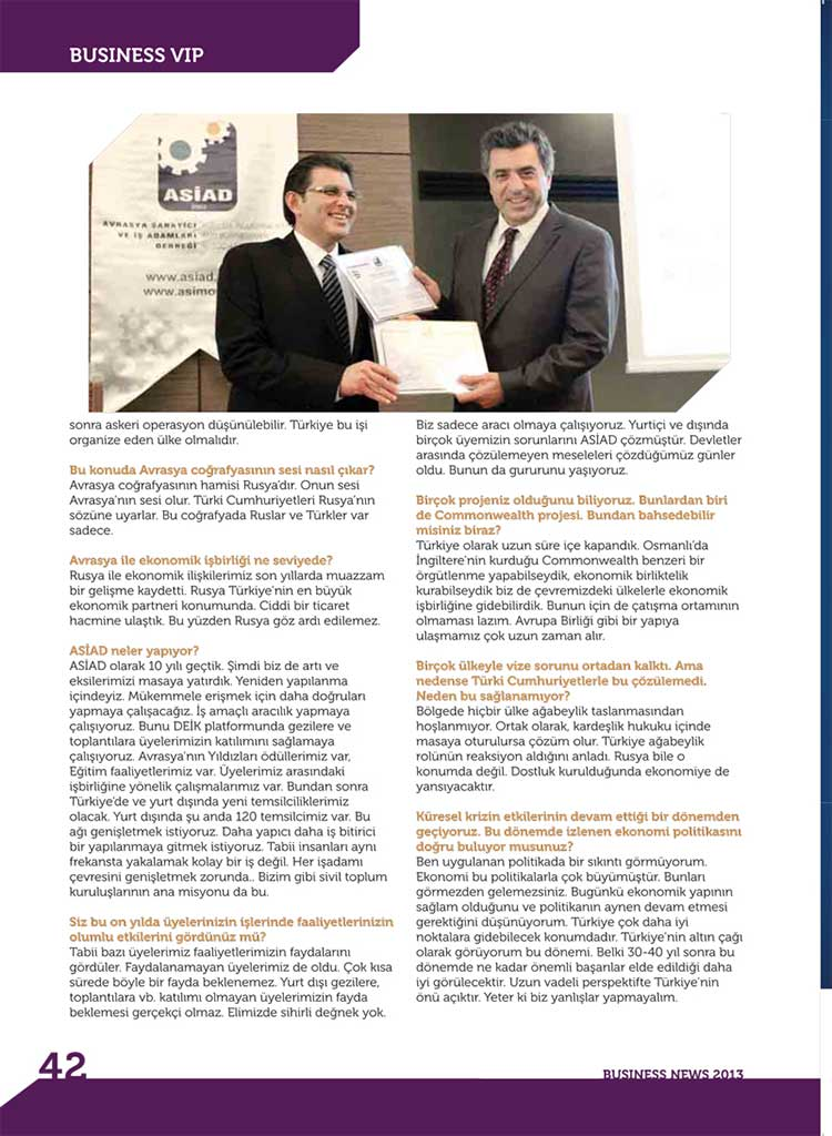 Business News 2013